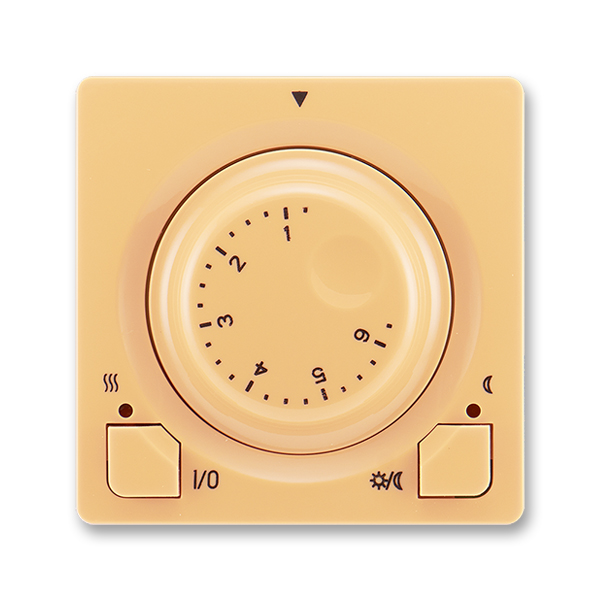 Termostat univerzální s otočným nastavením teploty SWING - béžová