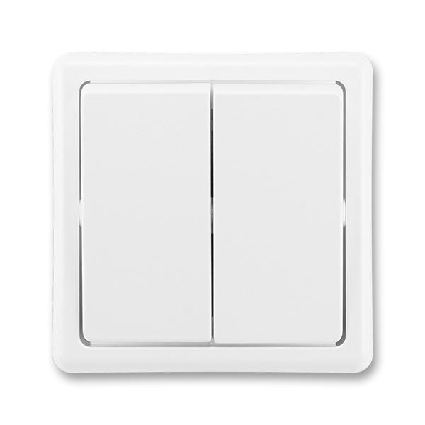Přepínač dvojitý střídavý CLASSIC
