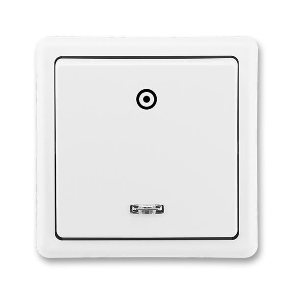 Ovládač zapínací CLASSIC se signalizační doutnavkou