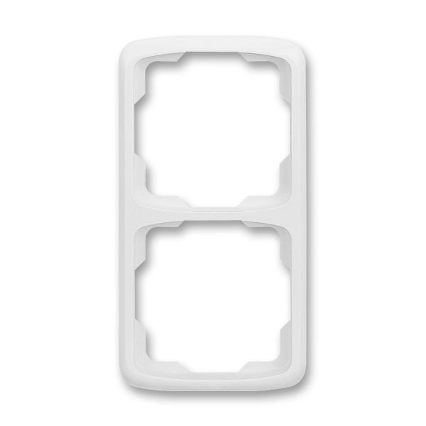 Rámeček pro elektroinstalační přístroje dvojnásobný svislý TANGO