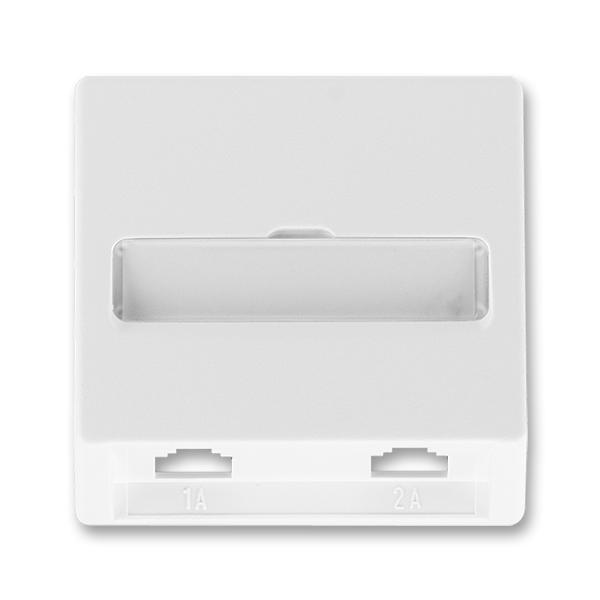 Kryt zásuvky telefonní dvojnásobné CLASSIC (pro přístroj 5013U)