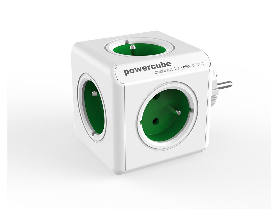 PowerCube Original Green rozbočovací zásuvka