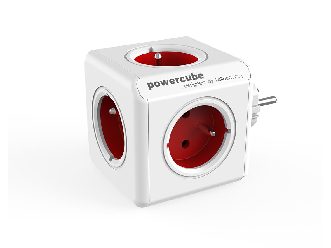 Powercube Original Red rozbočovací zásuvka