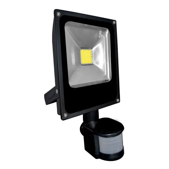 LED reflektor DAISY PIR MCOB 20 W s čidlem pohybu