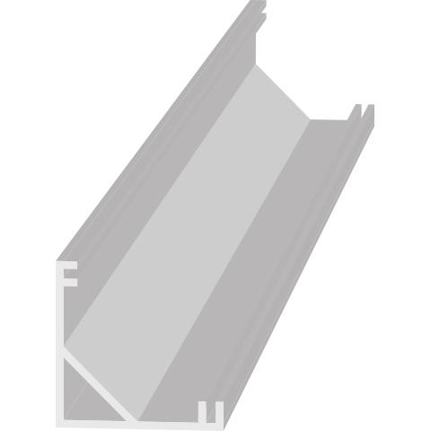 Hliníkový profil AL - PROFIL V