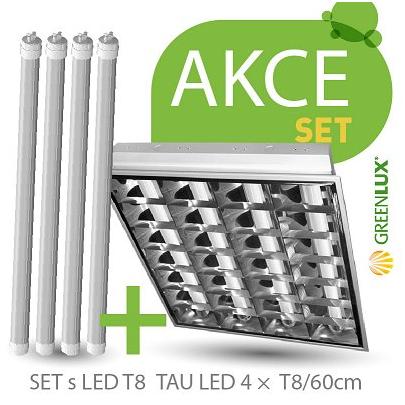 Svítidlo SET TAU LED 4 x T8 / 60 cm