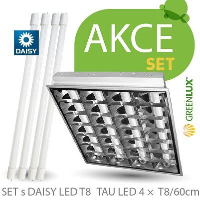 Svítidlo SET TAU DAISY LED 4 x T8 / 60 cm
