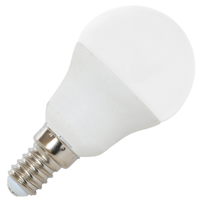 LED žárovka LED7W - G45 / E14 / 2700K mini globe