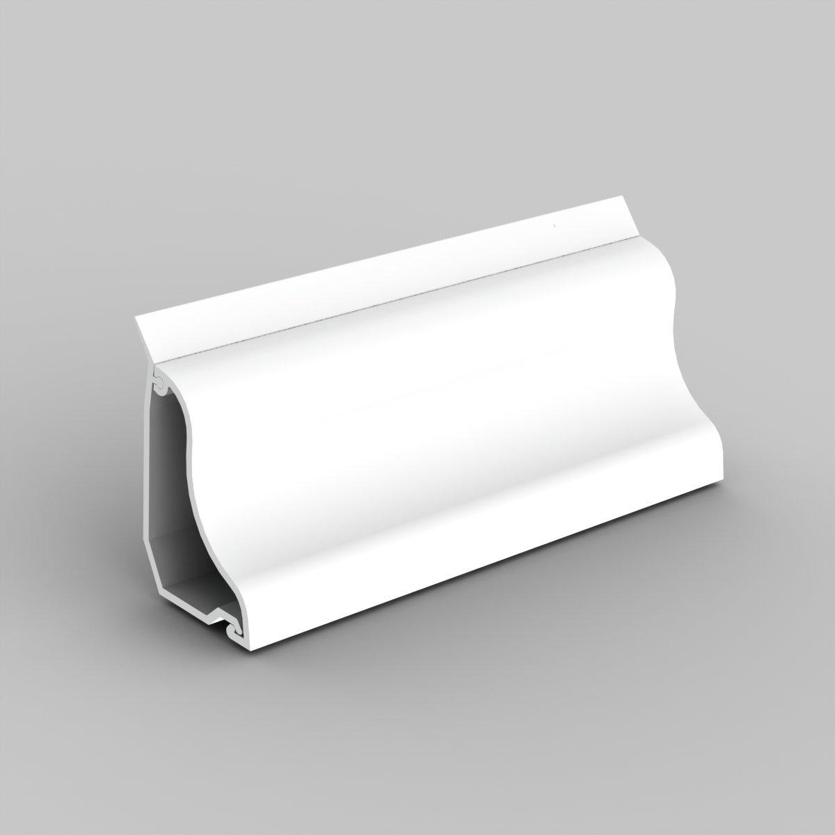 Lišta podlahová LP 35 bílá (LP 35_HD)