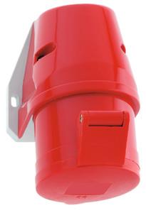 Průmyslová zásuvka náštěnná Quick-Connect 400V/16A/4póly (IP44)