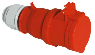Průmyslová spojka Quick-Connect s Multi-Grip 400V/16A/5pólů (IP44)