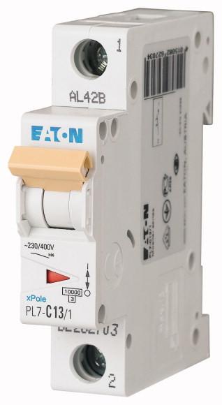 Jistič jednofázový EATON PL7-B13/1, 13 A