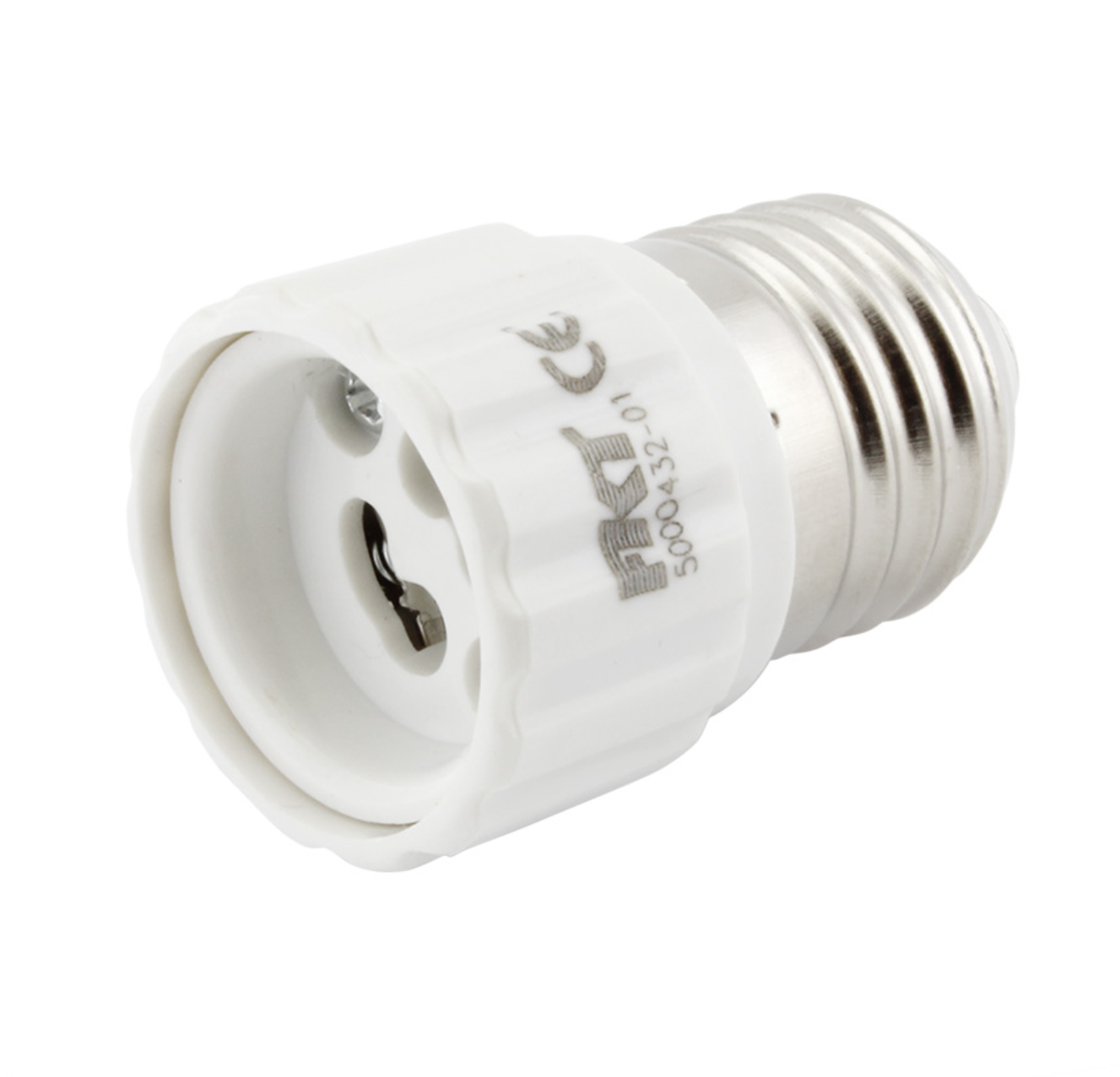 Adaptér pro LED žárovky E27 na GU10 (5000432)