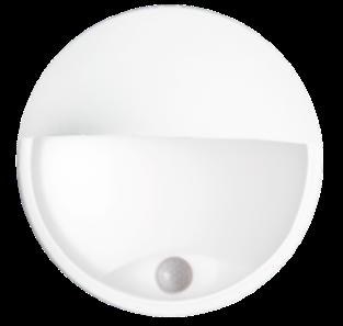 LED svítidlo s čidlem pohybu DITA ROUND W 14W NW cover (GXPS045)