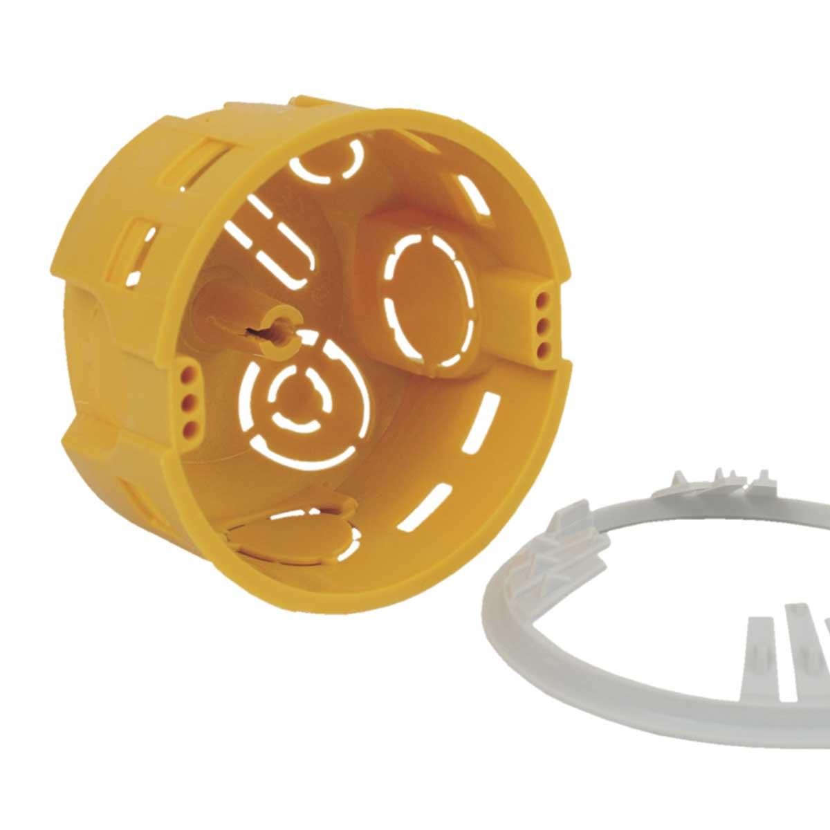 Krabice přístrojová s montážním kroužkem KPM 64/LU_NA