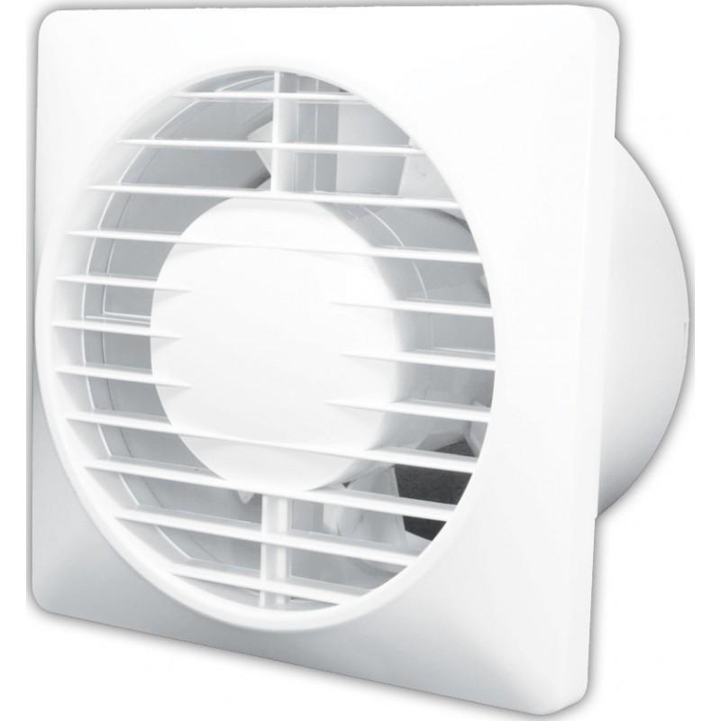Nástěnný axiální ventilátor SOLO 100 T - s časovým spínačem