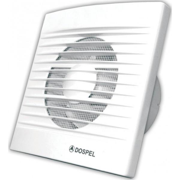 Nástěnný axiální ventilátor STYL 100/WC - s časovým spínačem