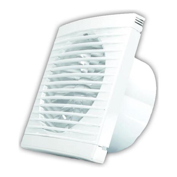 Nástěnný axiální ventilátor PLAY CLASSIC 100/WC/H - s časovým spínačem a hygrostatem