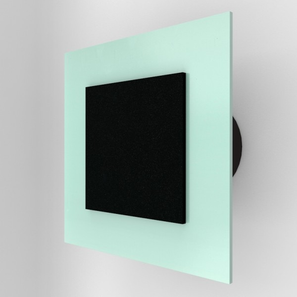 Nástěnný ventilátor IDEA 100 S - se svorkovnicí a podsvětlením