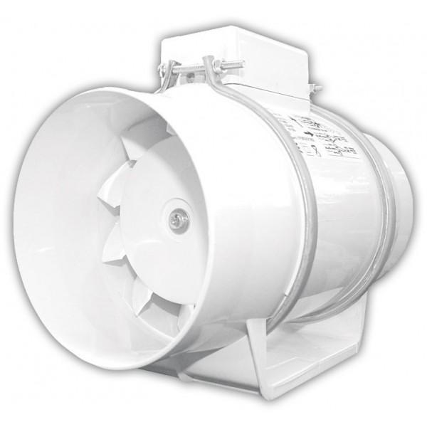 Potrubní diagonální ventilátor TURBO 100 - Ø100 mm, 180/160 m3/h, 93/78 [Pa]