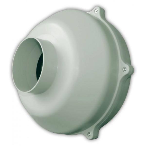 Průmyslový radiální ventilátor WK PLAST 100 - Ø100 mm, 300 m3/h
