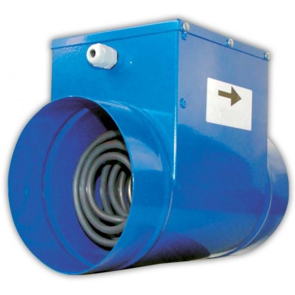 Potrubní elektrický ohřívač Szerdi 1 E 125/900 - Ø125 mm, 900 W, 230 V/50 Hz