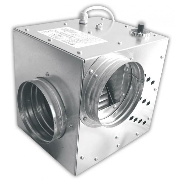 Krbový ventilátor KOM II 400 - Ø125 mm, 355 m3/h