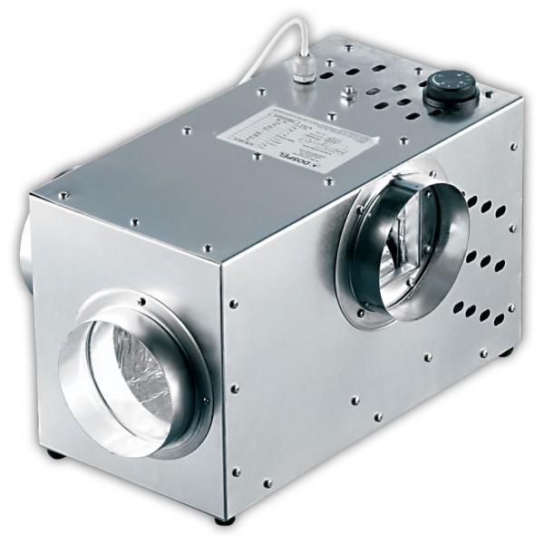 Krbový ventilátor KOM III 400 by pass - Ø125 mm, 355 m3/h