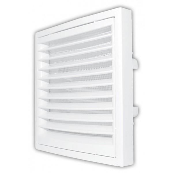 Ventilační mřížka KR 150 bílá - Ø150 mm