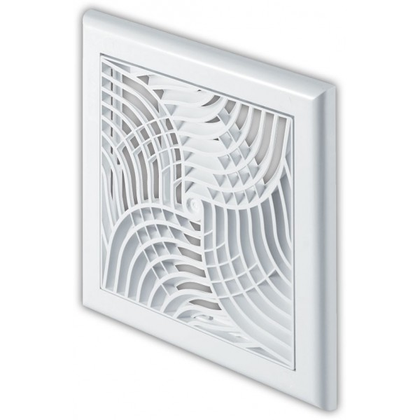 Plastová ventilační mřížka TX1 - 150x150 mm