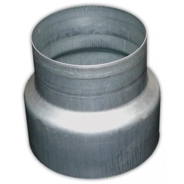 Plechová redukce METAL-K R o průměrech 125/150 mm