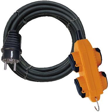 Prodlužovací kabel PROFI 10m / 4 zásuvky