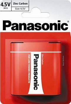 Zinkouhlíková baterie 4,5V (placatá) Panasonic Red Zinc 3R12RZ (1ks v blistru)