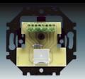 Přístroj zásuvky ISDN, koncový, jednonásobný