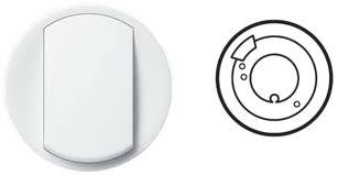 Kryt Céliane termostatu pro podlahové topení (bílý)