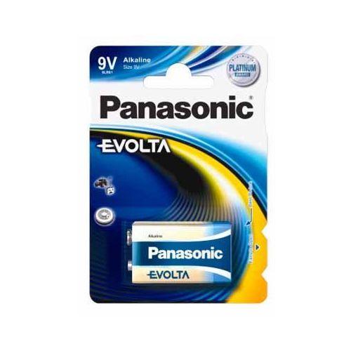 Alkalická baterie 9V Panasonic Evolta 6LR61EGE (1ks v blistru)
