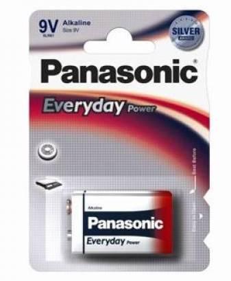 Alkalická baterie 9V Panasonic Everyday Power 6LR61EPS (1ks v blistru)