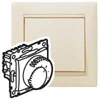 Prostorový termostat Valena (podlahové topení) - béžová