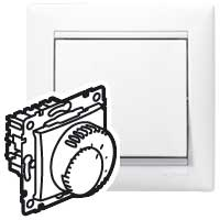 Prostorový termostat Valena (podlahové topení) - bílá