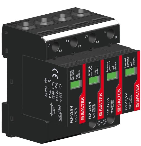 Svodič bleskových proudů FLP-12,5 V/4 S