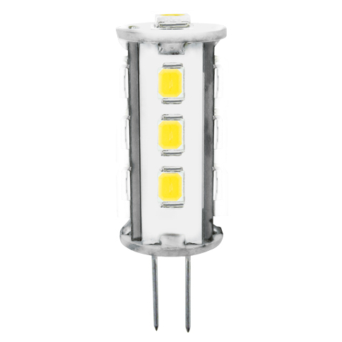 LED žárovka LED13 SMD 2835 JC 2 W - CW