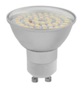 LED žárovka SMD 48 LED (patice GU10) 2,5W