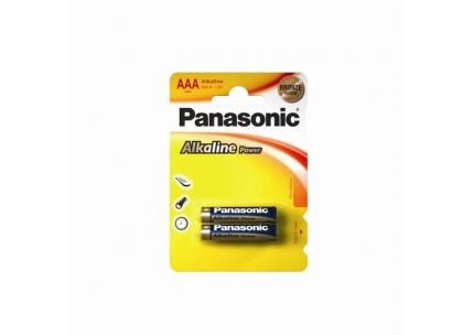 Alkalická baterie AAA Panasonic Alkaline Power LR03APB (2ks v blistru)