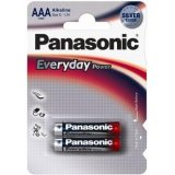 Alkalická baterie AAA Panasonic Everyday Power LR03EPS (2ks v blistru)