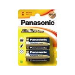Alkalická baterie C Panasonic Alkaline Power LR14APB (2ks v blistru)