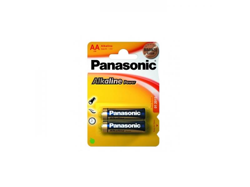 Alkalická baterie AA Panasonic Alkaline Power LR6APB (2ks v blistru)