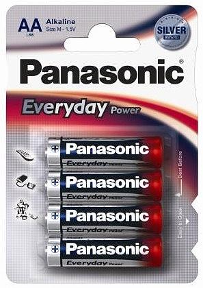 Alkalická baterie AA Panasonic Everyday Power LR6EPS (4ks v blistru)
