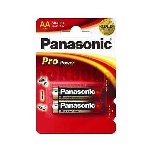 Alkalická baterie AA Panasonic ProPower LR6PPG (2ks v blistru)