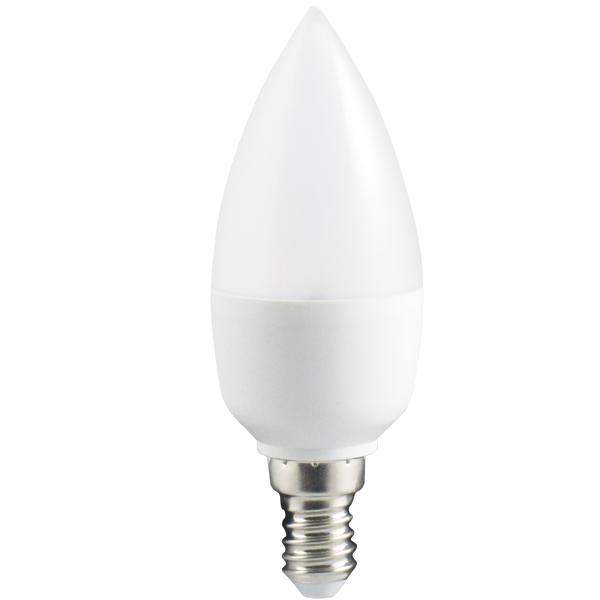 LED žárovka (patice E14) 5,5W - vyzařovací úhel 180°