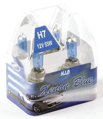 Žárovky H7 XENON BLUE 12V 100W
